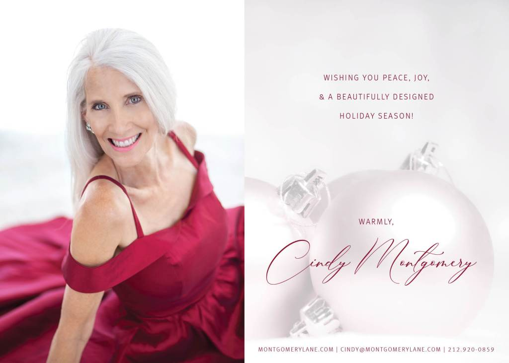 Cindy Montgomery Holiday Card 2019